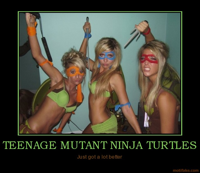 Teenage Ninja Mutant Turtles - Just Got Better